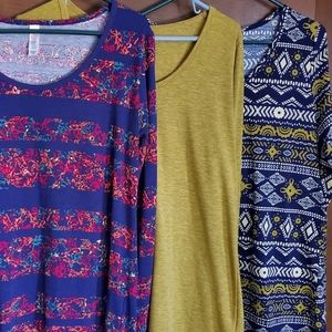 LuLaRoe Lynnae Bundle of 3